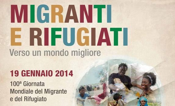 <strong>Agrigento</strong>: Giornata mondiale del migrante e del rifugiato politico