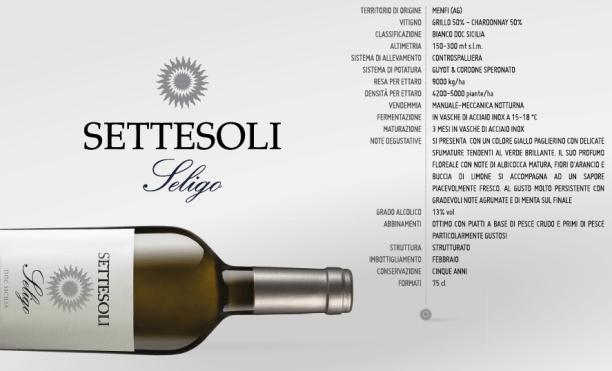 <strong>Seligo Bianco</strong> Doc Sicilia 2014, Oro al Berliner Wein Trophy 2015