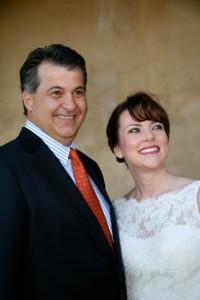 Joe Cashia e la moglie Angela