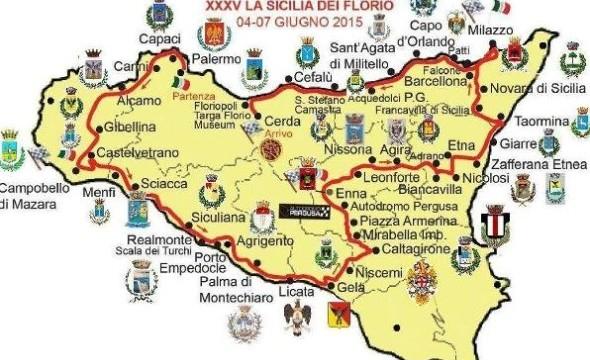 <strong>Auto d&#8217;epoca</strong>. Giro di Sicilia, 120 equipaggi dal 4 al 7 giugno