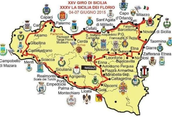 <strong>Auto d'epoca</strong>. Giro di Sicilia, 120 equipaggi dal 4 al 7 giugno