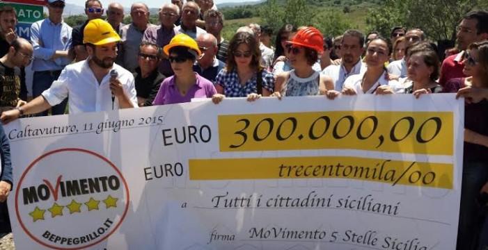 <strong>Il M5S riaccorcia la Sicilia</strong>: una strada-scorciatoia riavvicinerà Palermo e Catania