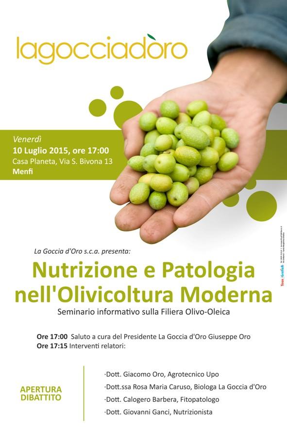 """<strong>La Goccia d'Oro</strong> organizza seminario """"Nutrizione e Patologia nell'Olivicoltura Moderna"""""""