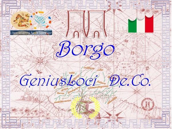 Agira, (En) Audizione Pubblica per i Borghi GeniusLoci De.Co.
