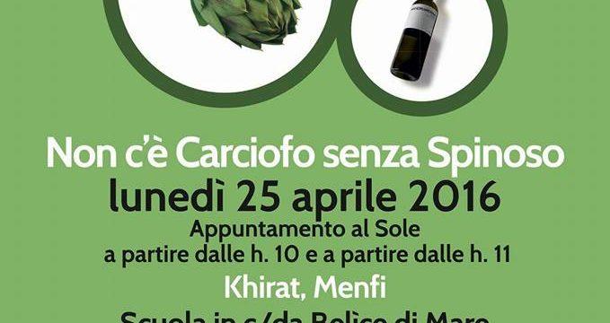 """""""Non c'è carciofo senza spinoso"""", Menfi celebra il prodotto principe del suo territorio"""
