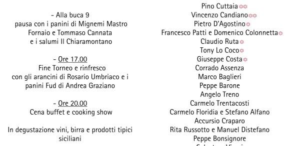 """Il 17 aprile la Sicilia enogastronomica tutta unita per il """"Primo Memorial La Luce di Aurora"""""""