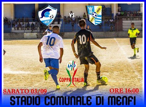 Ares Menfi, domani la sfida di Coppa Italia contro l'Atletico Ribera