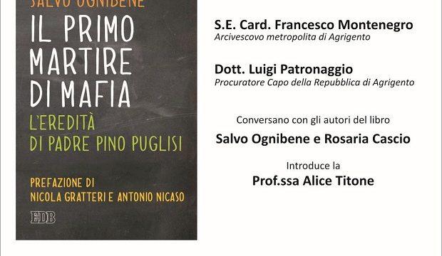 """A Menfi presentazione del libro """"Il primo martire di mafia. L'eredità di Padre Pino Puglisi"""""""