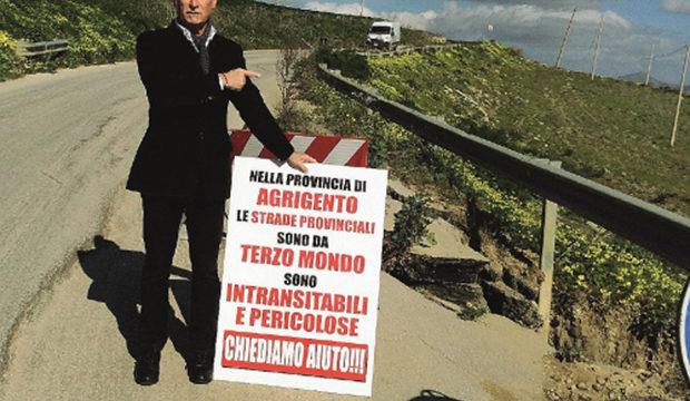 """""""Strade da terzo mondo nella provincia di Agrigento"""", protesta il vicesindaco di Santa Margherita Belice"""