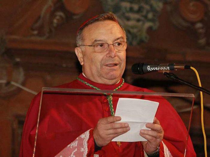 """Il cardinale Montenegro, """"Sicilia ferita mortalmente"""""""