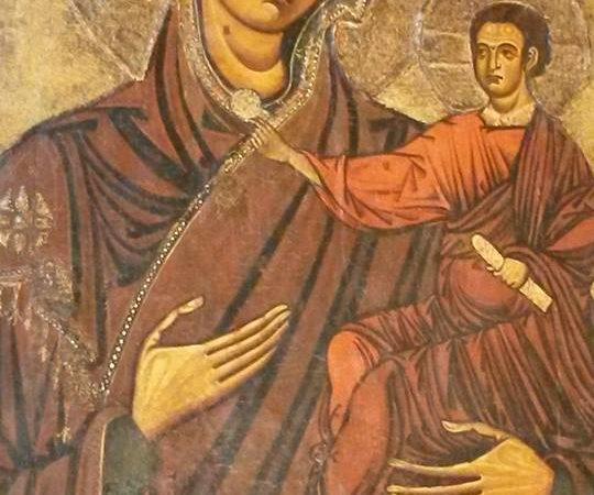 La Madonna Odigitria, Patrona di Sicilia