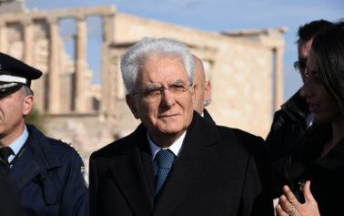 Presidente Sergio Mattarella a cerimonia 50 anni Belìce