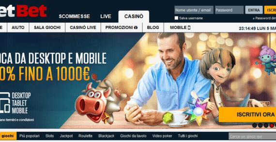 Gioca e divertiti nella sala giochi di NetBet