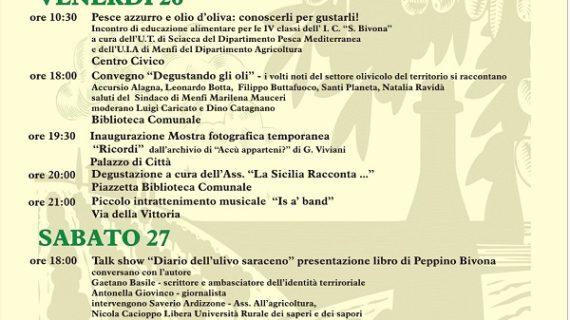 """Menfi, weekend di festa per l'olio novello: da domani a domenica """"Frantoi In Piazza"""" tra assaggi, musiche e ricordi"""