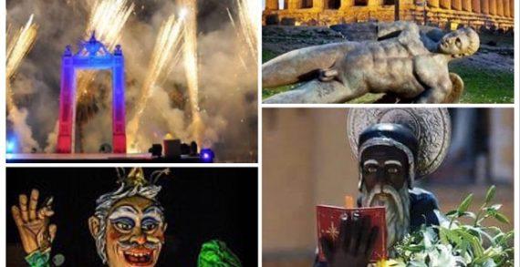 I 45 eventi di grande richiamo turistico in Sicilia: ecco quali sono