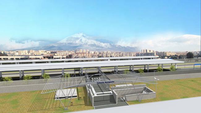 Ferrovie: Catania, entro il 2020 la nuova stazione aeroporto