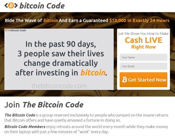 Cos'è un Bitcoin code ?
