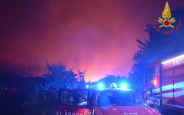"""Incendio doloso divora i boschi di Altofonte. Musumeci: """"Criminali"""""""