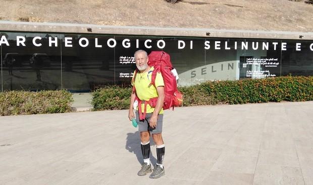 Sicilia: l'alpino Brupamento fa tappa anche a Menfi a sostegno dell'Associazione Sclerosi Tuberosa