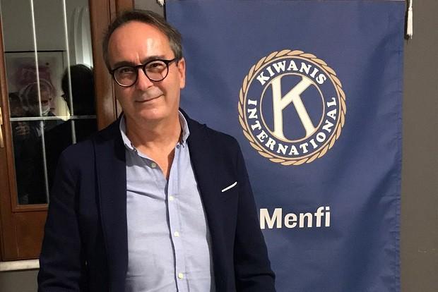 Nino Moschitta è il nuovo presidente del Kiwanis Club di Menfi