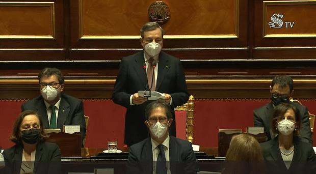 Il discorso di Mario Draghi in Parlamento: testo completo VIDEO