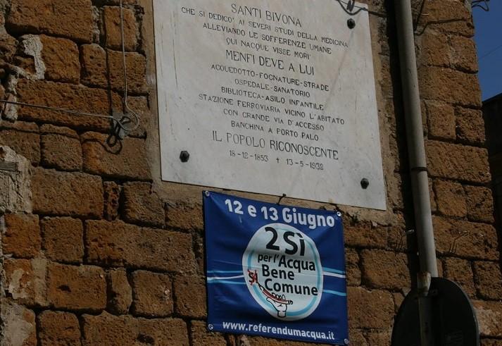 Gestione servizio idrico a Menfi: il 9 Marzo incontro presso il Centro Civico