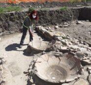 Vallelunga Pratameno, gli Assessori visitano l'area di scavi dove è stato scoperto il sito archeologico