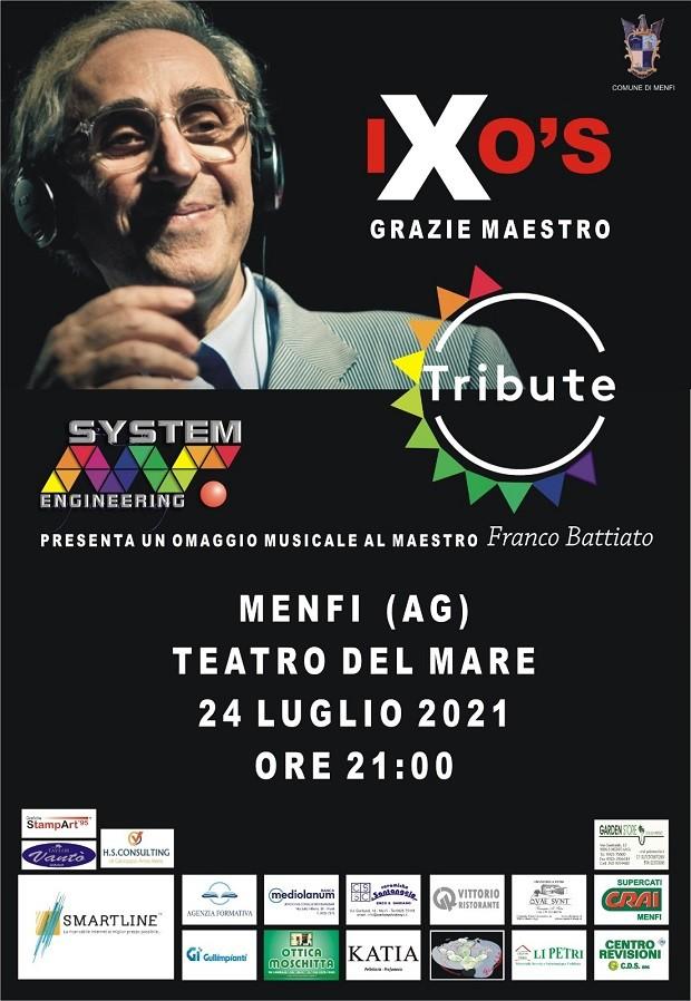 IXO's: al Teatro del Mare di Menfi l'omaggio a Franco Battiato