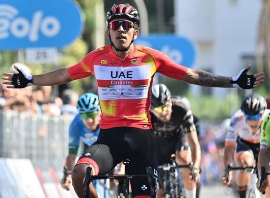 Giro di Sicilia, Seconda tappa: vince Molano