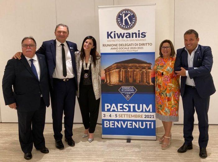 Kiwanis International, eletto nuovo Governatore Giuseppe Mauceri