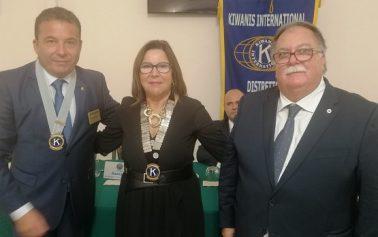 Passaggio di consegne all'interno del Kiwanis International: Giuseppe Mauceri neo Luogotenente Governatore